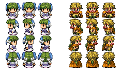 My RPG Maker VX characters!