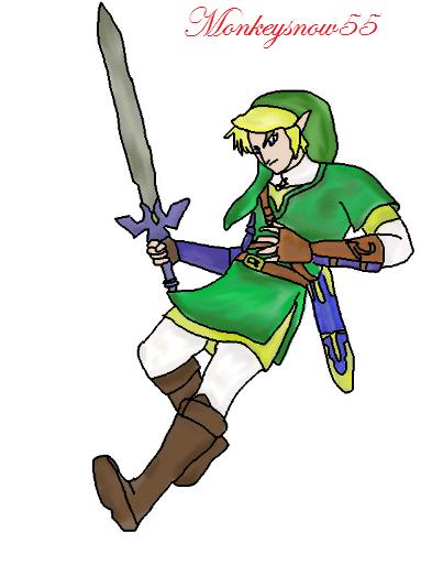 The Legend of Zelda: Digital Art (Beginner's Creation)