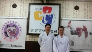 taekkyon master do ki hyun and me
