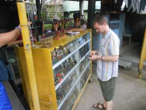 buying a balisong knife in taal