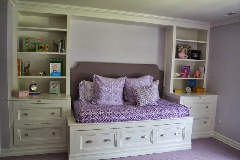 Built In Trundle Bed Chatham NJ Monks Home Improvements