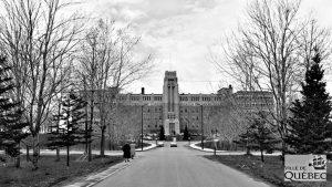Limoilou dans les années 1960 (133) : la 18e Rue au voisinage de l'hôpital de l'Enfant-Jésus