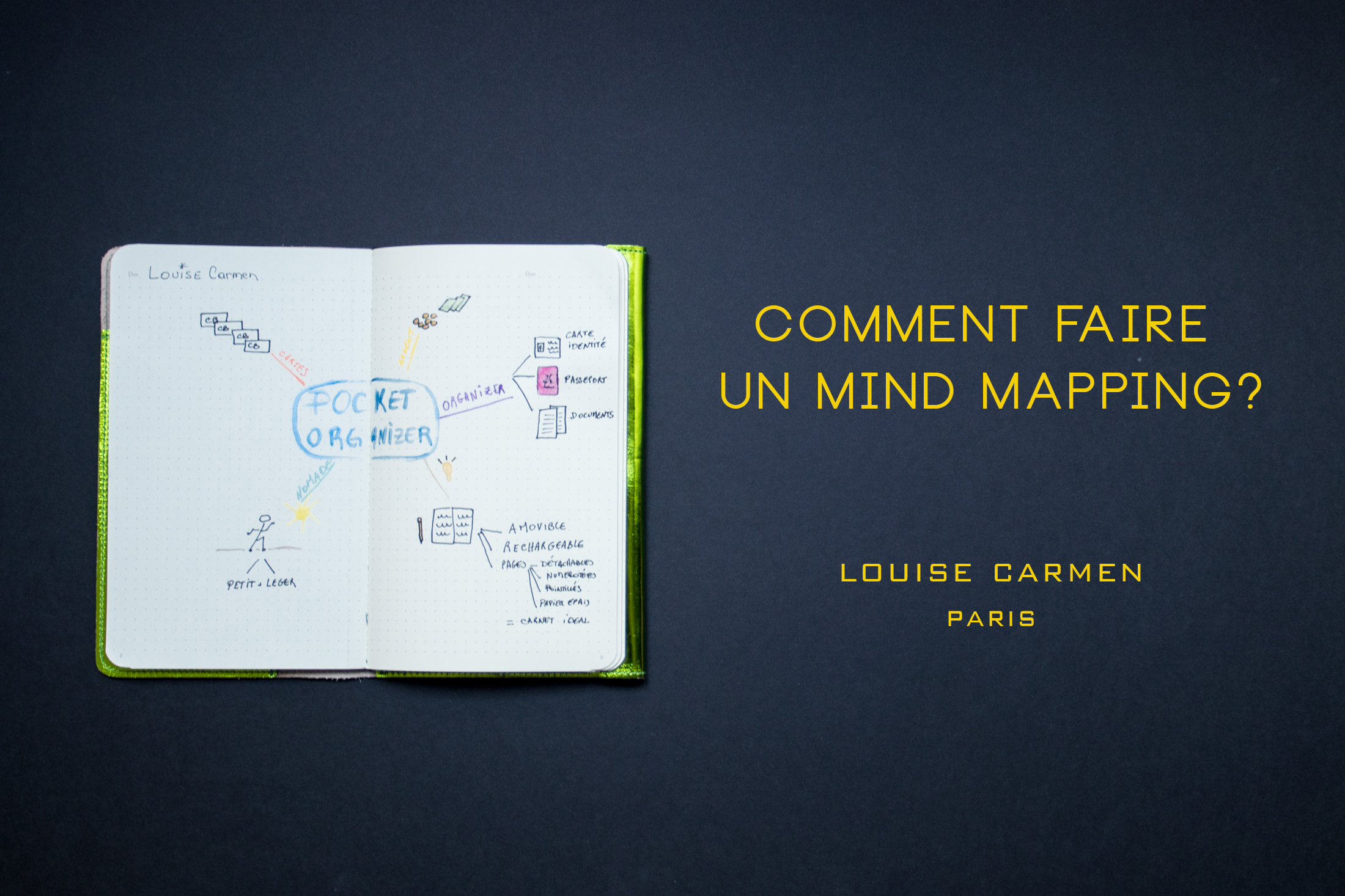 Louise Carmen, comment faire un mind mapping