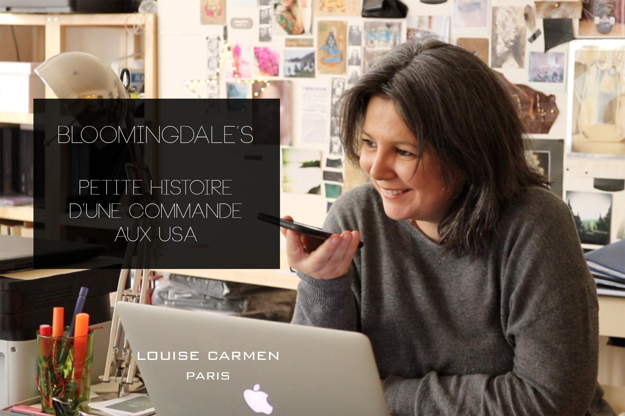 Bloomingdale's et Louise Carmen Paris