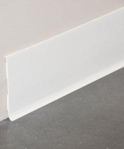 Plinthe à lèvre rigide PVC blanc avec dimensions