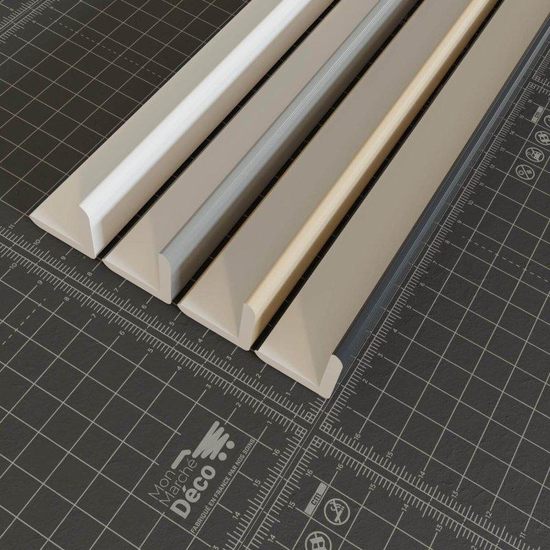 La gamme profil d'angle PVC en 25mm