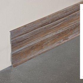 Plinthe à lèvre rigide PVC planche vieillie avec dimensions