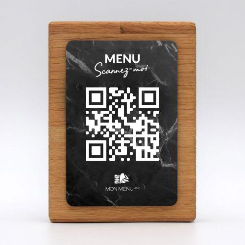 totem-premium-rectangle-vertical-bois-aspect-marbre-noir-mon-menu-360