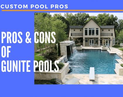 Pros & Cons Of Gunite Pools