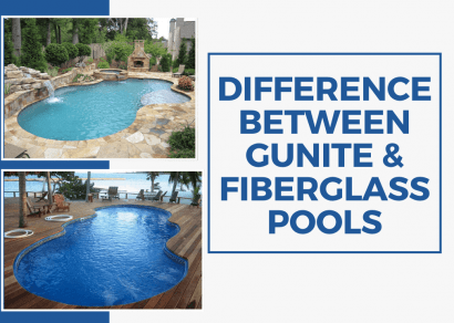Difference Between Gunite & Fiberglass Pools