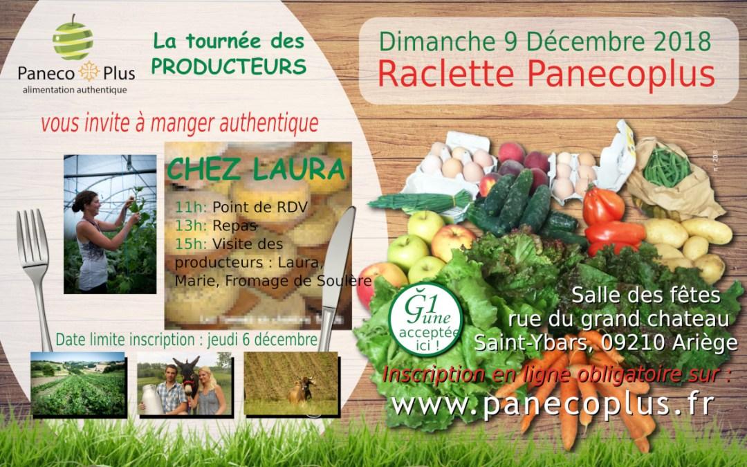 Raclette Panecoplus décembre 2018
