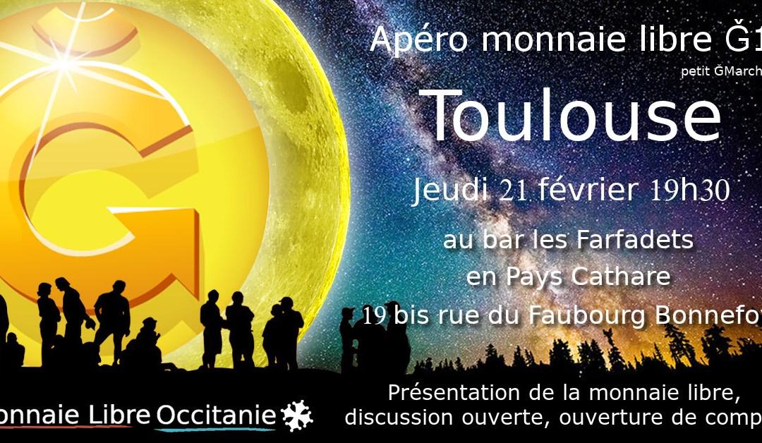 Apéro Monnaie Libre à Toulouse – Spécial Prépa. Festi'June 2019