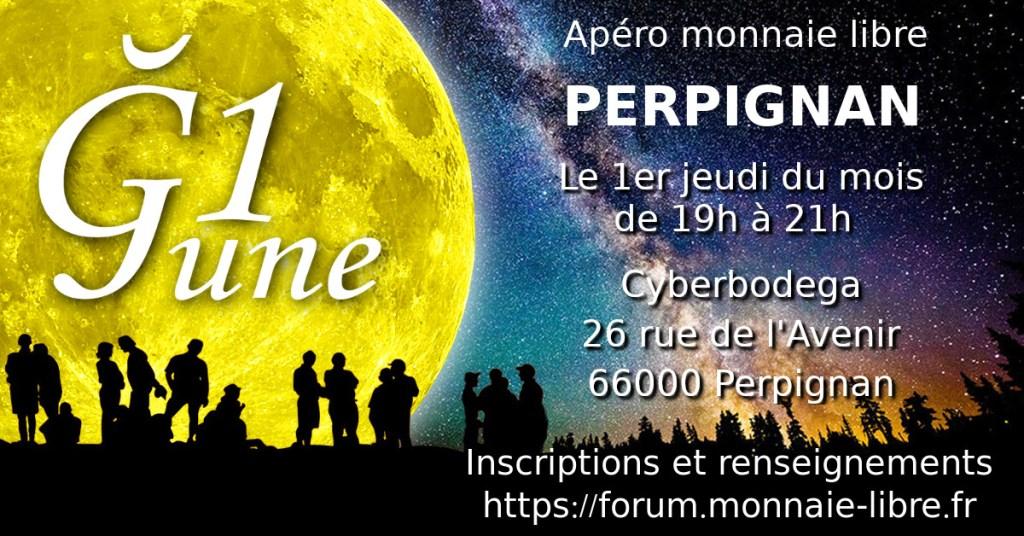 Apéro Monnaie Libre Ğ1 Perpignan