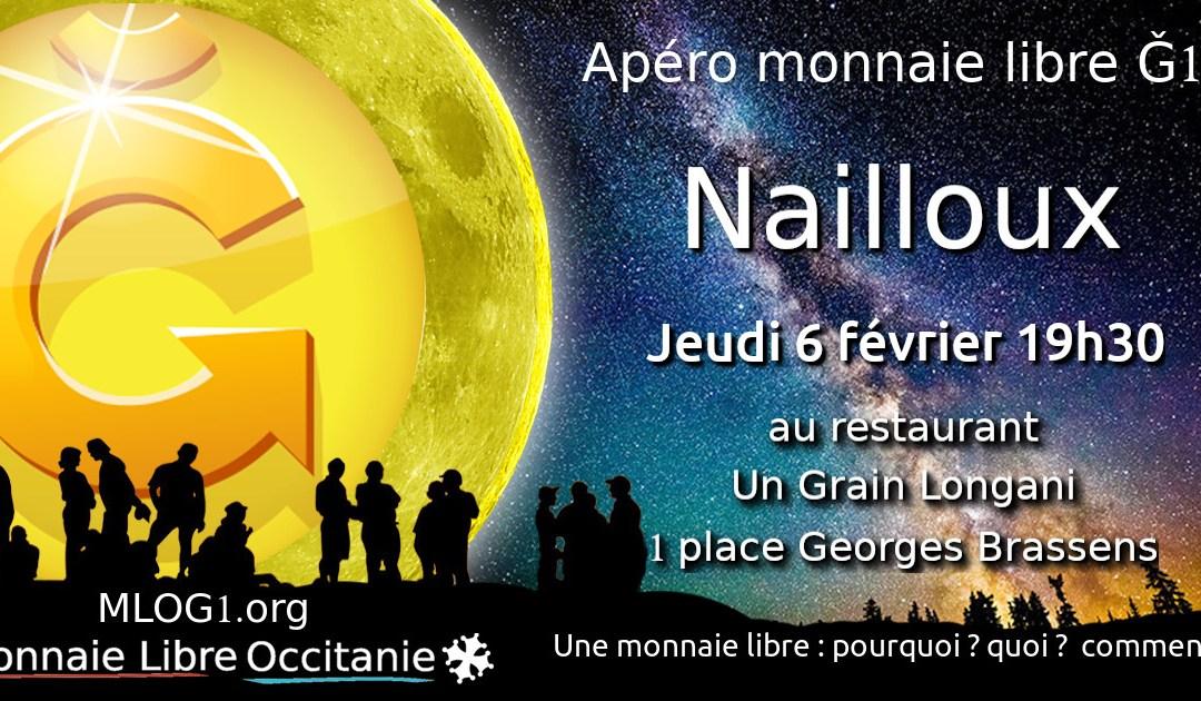 Apéro Monnaie Libre à Nailloux