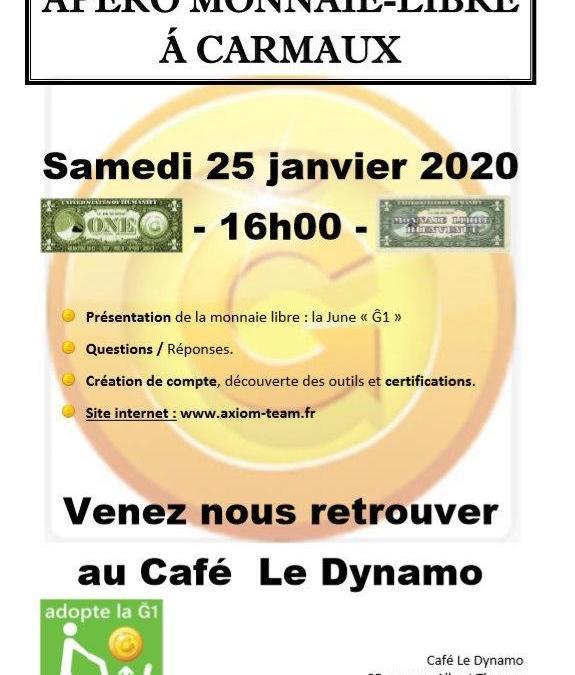 Apéro Monnaie Libre à Carmaux