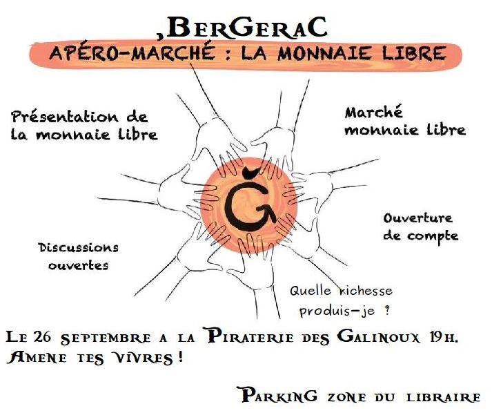 l'Auberge pirate Monnaie libre à Bergerac