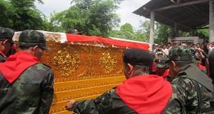 Photos from theNai Rotsa'sfuneral ceremony