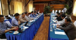 NCCT and UPWC Meeting (Nyo Ohn Myint's Facebook)