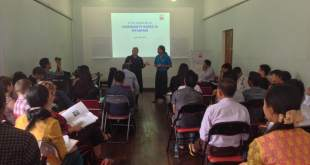 Facilitator and participants during the workshop at the French Institute (Photo: IMNA).