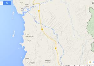 Map of Southern Ye (Photo: Google Map)