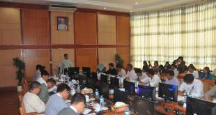 Meeting between Ministry of Information and ethnic media groups (Photo: Ye Htut Facebook)