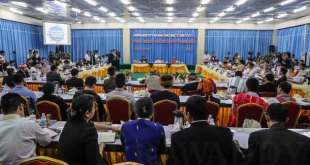 Conference of ethnic armed organizations in Laiza, Kachin State (Photo: Internet)