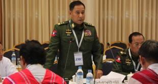 JMC-U Chairman Lt-Gen Yar Pyae (Photo: MPC)