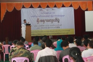 Seminar ceremony of farmers and land users (Photo: Min Paing)