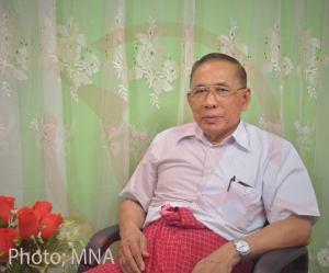 New Mon State Party Chairman Nai Htaw Mon (Photo:MNA)