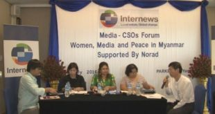 Forum for Women, Media and Peace in Myanmar (Photo: MITV News)