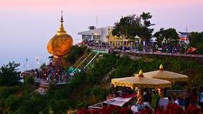 Mon State's popular Kyaik-thi-yo Pagoda (Photo: Internet)