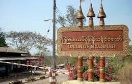 Three Pagodas Pass Border (Photo: Internet)