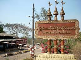 Three Pagodas Pass Border (Photo: Internet)