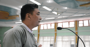 Mon State Election Sub-commission Official U Hein Lin Htet (Photo: MNA)