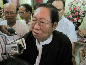 U Nyan Min, head of NLD's inquiry committee (Photo: internet)