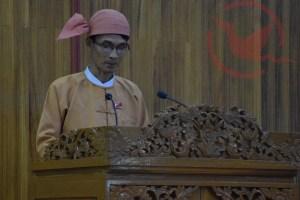 Former Chief Minister U Min Min Oo (Photo: MNA)