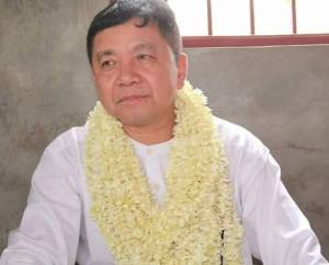 USDP candidate U Aung Kyi Thein won the Chaungzon township Pyithu Hluttaw seat. (Photo: Thanlwin Times)