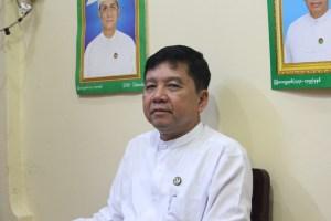 Newly elected Chaungzon Pyithu Hluttaw, U Aung Kyi Thein,