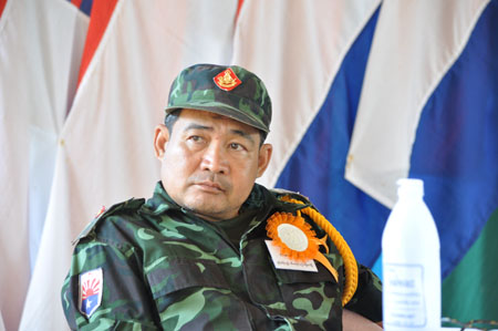 """The troops did not retreat and they expanded, even after the NCA was  signed, so I can not believe it at all"""" – Interview with Pado Mahn Mahn,  Spokesman of KNU Brigade"""