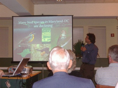 David Curson of the Audubon Society notes that, indeed, some bird species are declining.