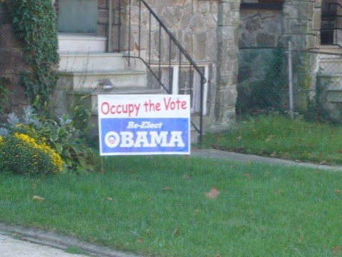 Somewhere in Baltimore City, this sign and the occupants of this dwelling are lurking. We can fight back.