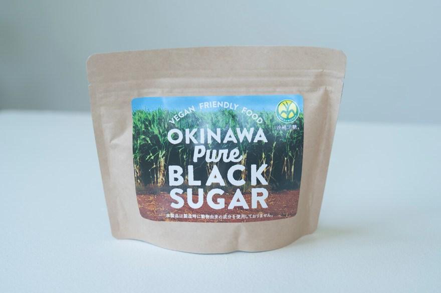 OKINAWA Pure BLACK SUGARのパッケージ