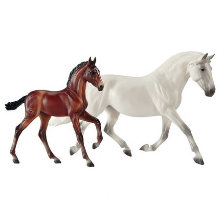 Breyer Traditional - Fantasia Del C and Gozosa SCS