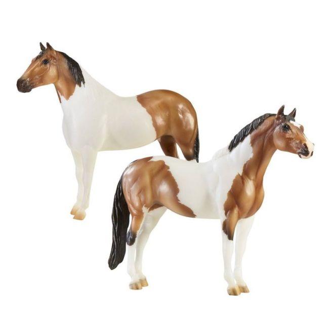 Breyer Traditional 1822 - Kuce The Gangsters - Tony Da Pony & Bugsy Maloney