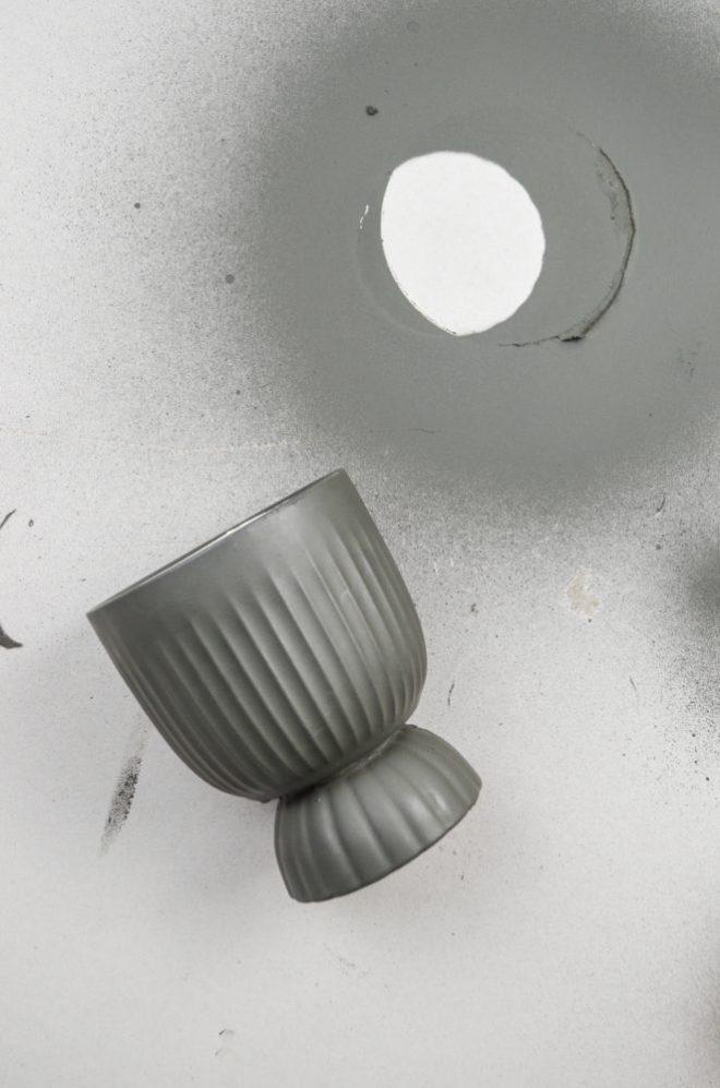 DIY-Anleitung für eine selbst gemachte Duftkerze aus zwei Schüsseln