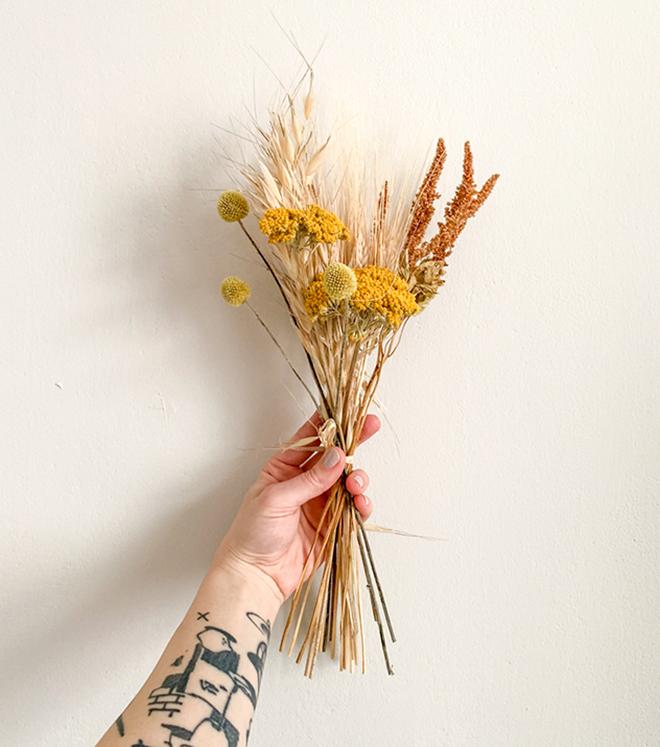 Mini Trockenblumen-Mix zum Basteln und Dekorieren