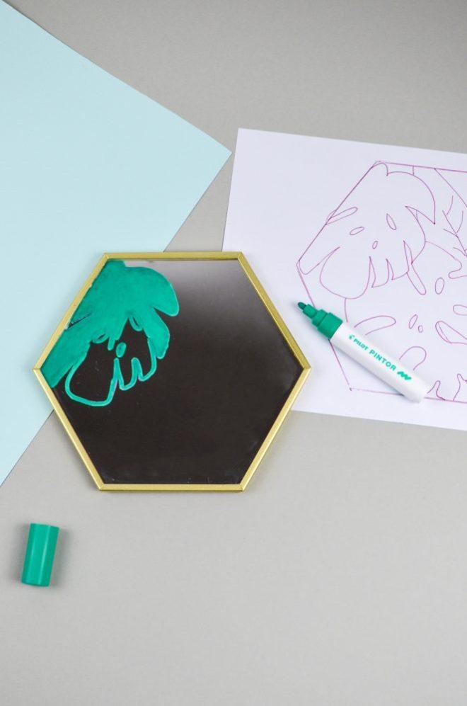 Ikea Upcycling mit den Kreativmarkern PINTOR von PILOT