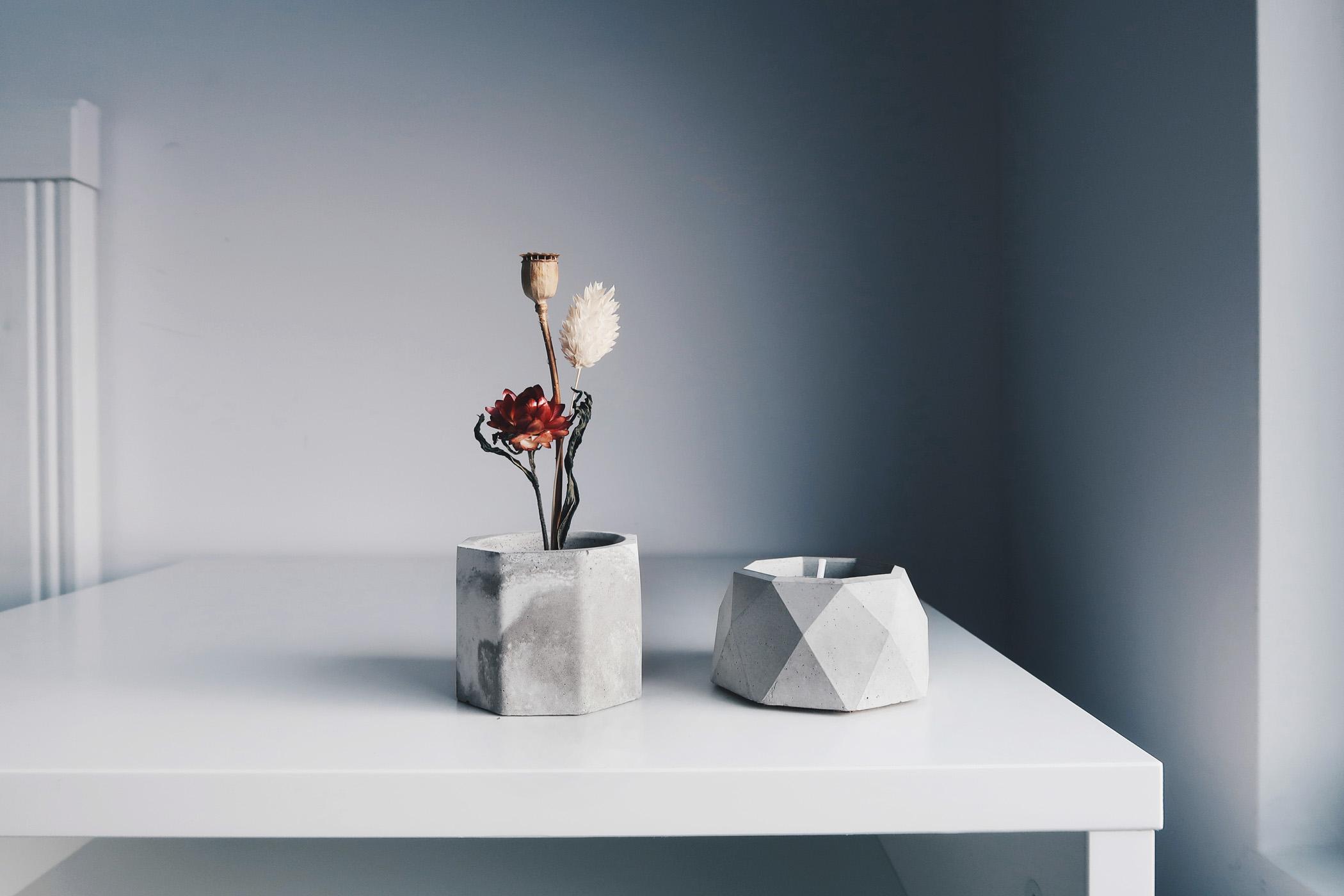 BLOOMING 綻放-水泥銅座盆器・線香燭台・收納盤