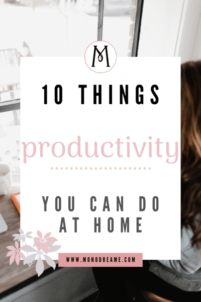 productivity at home