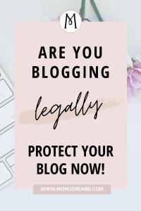 blogging legally